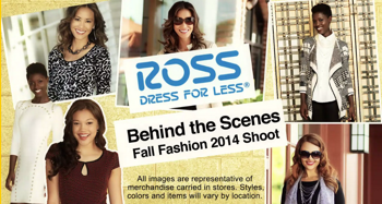 Ross Clothing production spring 2014
