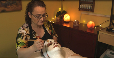 Tuscany Spa facial and waxing